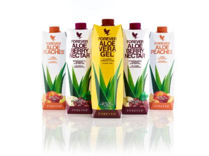 Forever Aloe Vera Gel Range