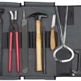 9 pics farrier tool kit